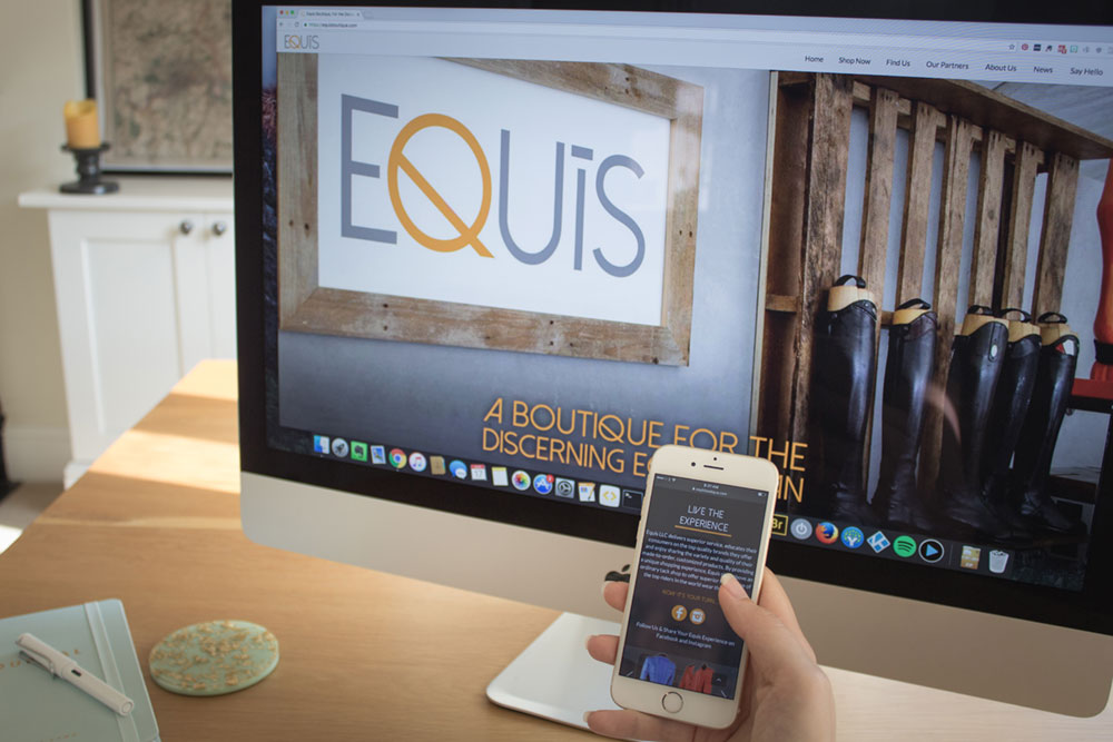 eqsol equestrian marketing website builds